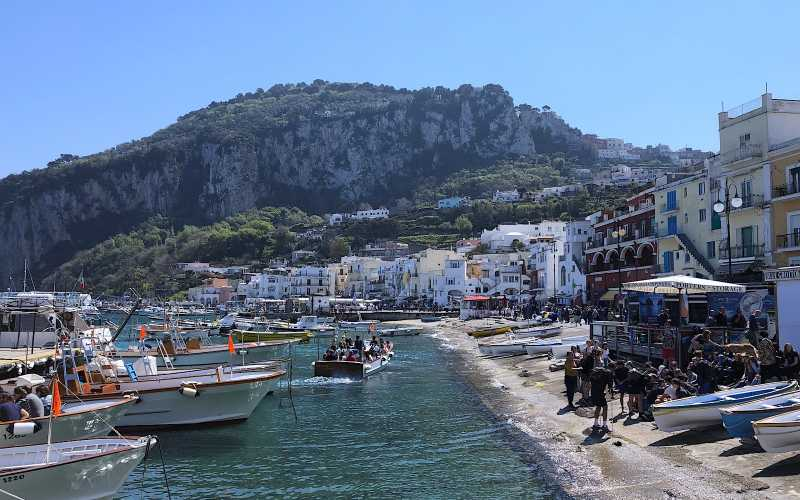 Amalfi Coast, Capri and Ischia Isla