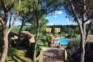 Book now your holiday home with holiday dependance with pool in Valdichiana near Cortona, property of absolute tranquility