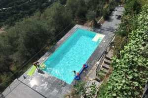 Book now your holiday in Imperia, Prela in Liguria in this wonderful private Villa on the sea with swimming pool located in Prela in Liguria for rent